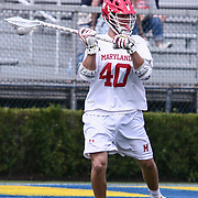 University of Maryland Midfielder CONNOR KELLY (40) in action during the second half of a 2017 NCAA Division I Men's Lacrosse Quarterfinals game between #1 Maryland and #8 Albany Sunday, May. 21, 2017 at Delaware Stadium in Newark, Delaware.