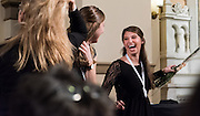 Thirty-six Gonzaga nursing students culminated years of hard work in the Fall 2015 Nursing Pinning Ceremony Dec. 18, 2015 in St. Aloysius Church. (Photo by Edward Bell)