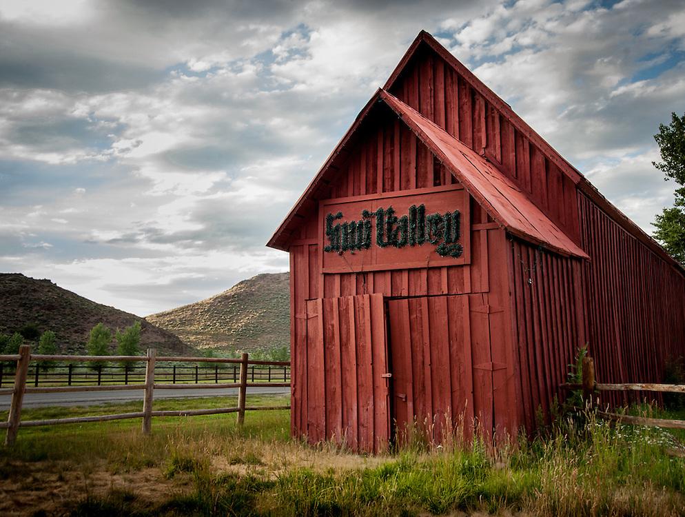 The Barn, Sun Valley Idaho.