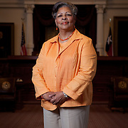 Texas State Representative Senfronia Thompson stands on the floor of the Texas House of Representatives on July 19th, 2011, in Austin, Texas.