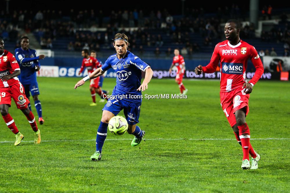 Guillaume GILLET - 03.12.2014 - Bastia / Evian Thonon - 16eme journee de Ligue 1 <br />Photo : Michel Maestracci / Icon Sport