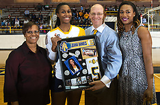 2014 A&T Volleyball vs SC State (Senior Day)