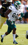 WEST LAFAYETTE, IN - SEPTEMBER 15:  Running back Ryan Brumfield #22 of the Eastern Michigan Eagles runs the ball against the Purdue Boilermakers at Ross-Ade Stadium on September 15, 2012 in West Lafayette, Indiana. (Photo by Michael Hickey/Getty Images)***Local Caption***Ryan Brumfield