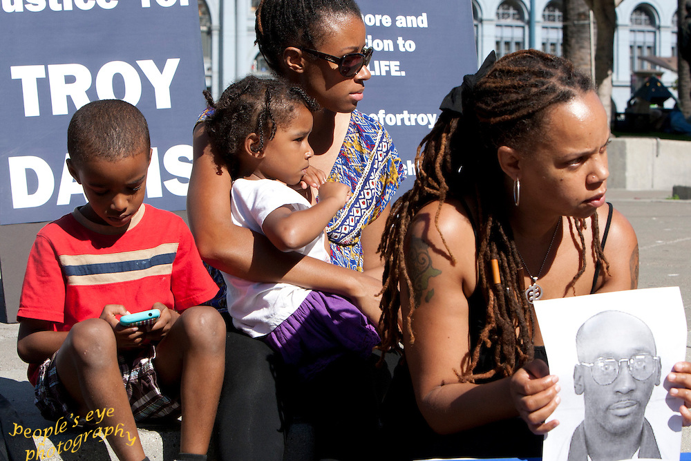 Today, 21 September 2012, marks a year since the state sanctioned murder of Troy Anthony Davis.<br />