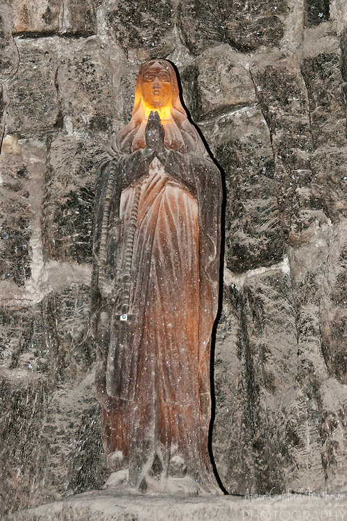 The Wieliczka Salt Mine, near Krakow, Poland, is a UNESCO World Heritage Site famous for its salt statues and chapels