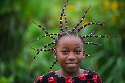 Girl, Mbomo Village<br /> Mbomo<br /> Odzala - Kokoua National Park<br /> Republic of Congo (Congo - Brazzaville)<br /> AFRICA