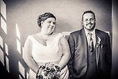 Rebecca + Tim, newlyweds at Cambridge Mill