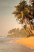 Thalpe. South coast of Sri Lanka.