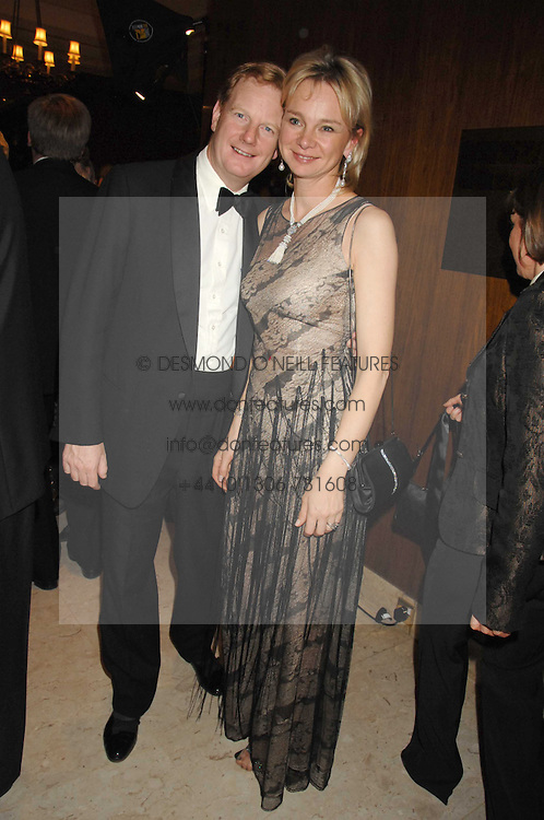 The EARL &amp; COUNTESS OF DERBY at the 17th annual Cartier Racing Awards 2007 held at the Four Seasons Hotel, Hamilton Place, London on 14th November 2007.<br /><br />NON EXCLUSIVE - WORLD RIGHTS
