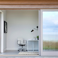 Home Office. Martha's Vineyard house.  Architect: Claudia Noury-Ello. Designer: Christine Lane Interiors