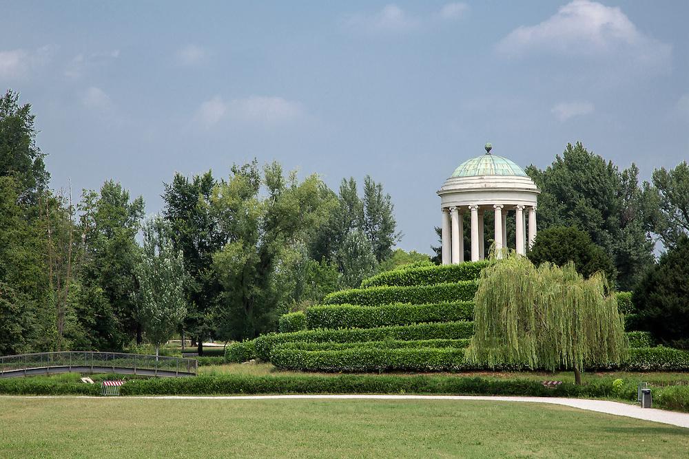 The rotunda in Querini Park, Vicenza, Italy