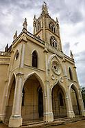 Iglesia on Linea, Havana Vedado, Cuba.