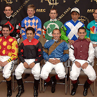 Jockeys of the 132nd Preakness Stakes