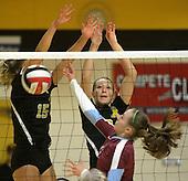 St. Pius vs. Sandia Prep Volleyball 09/13/16