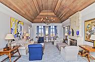 Living Room, 1900 Meadow Lane, Southampton, Long Island, New York
