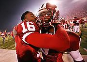 Kissing teammates