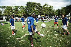 Homeless World Cup with French team (August 2011)