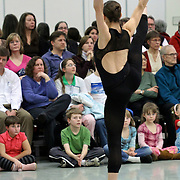 """PNB Friday Previews: 3 by Dove. In studio rehersal of Ulysses Dove's """"Vespers"""" and Victor Quijada's """"Suspension of Disbelief""""."""