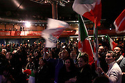 Firenze, 08 Dicembre 2013 - Teatro Obi Hall Primarie PD Matteo Renzi segretario PD