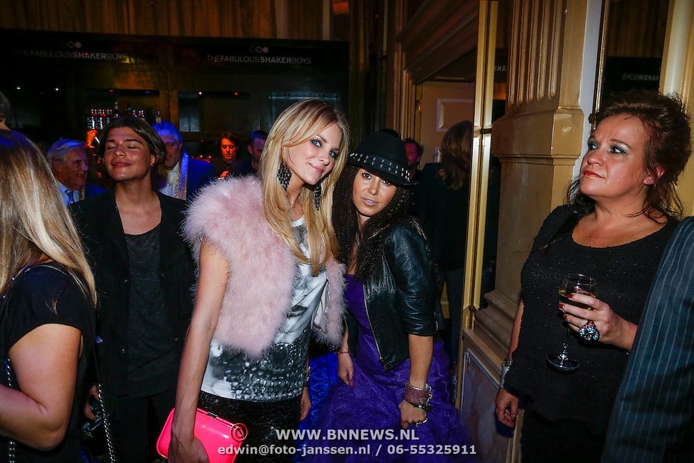 NLD/Amsterdam/20121112 - Beau Monde Awards 2012, Charlotte Labee en Graziella Ferraro