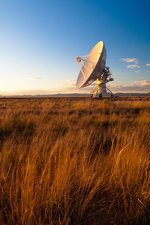 The Very Large Array on the Plains of San Augustin in southwestern New Mexico.