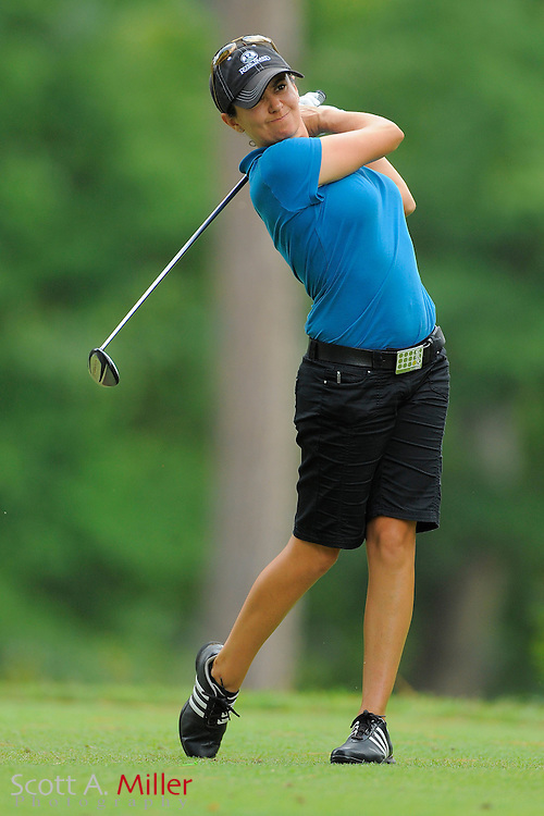 Mo Martin in action during the LPGA Futures Tour Eagle Classic at the Richmond Country Club on Aug. 14, 2011 in Richmond, Va...© 2011 Scott A. Miller