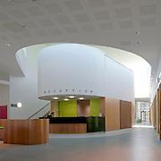 Small Animal Hospital, University of Glasgow. Interior View.