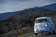 18/12/12 - GERGOVIE - PUY DE DOME - FRANCE - Essais FIAT Multipla de 1959 - Photo Jerome CHABANNE