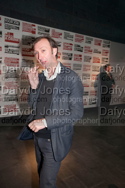 KEITH COVENTRY, The Galleries of Modern London launch party at the Museum of London on May 27, 2010 in London. <br /> -DO NOT ARCHIVE-&copy; Copyright Photograph by Dafydd Jones. 248 Clapham Rd. London SW9 0PZ. Tel 0207 820 0771. www.dafjones.com.