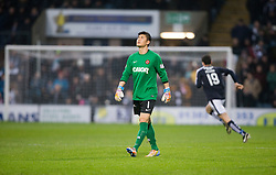 Dundee United&rsquo;s Eiji Kawashima. <br /> Dundee 2 v 1  Dundee United, SPFL Ladbrokes Premiership game played 2/1/2016 at Dens Park.