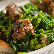 12/17/10 Wilmington DE: Broccoli Rabe &amp; Sausage only at Anthony's Coal Fired Pizzas in Wilmington Delaware.<br /> <br /> Special to The News Journal/SAQUAN STIMPSON