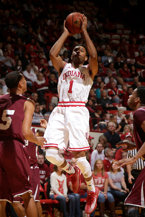 Indiana guard James Blackmon Jr. (1) as Texas Southern University played Indiana in an NCCA college basketball game, Monday, Nov. 17, 2014 in Bloomington, Ind.. (AJ Mast /Photo)