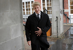 © Licensed to London News Pictures. 24/04/2017. London, UK. Jo Johnson MP leaves Conservative party headquarters in London. The Prime Minister posed for portraits with individual Conservative candidates at headquarters today ahead of general election which is due to take place on June 8th. Photo credit: Peter Macdiarmid/LNP