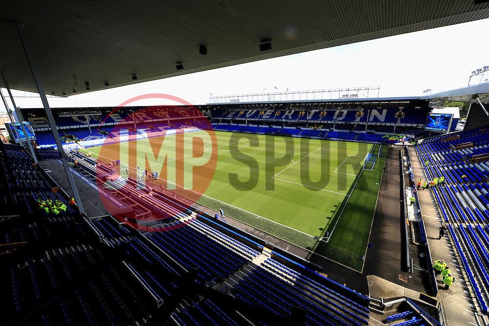 A general view of Goodison Park - Mandatory byline: Matt McNulty/JMP - 15/05/2016 - FOOTBALL - Goodison Park - Liverpool, England - Everton v Norwich City - Barclays Premier League