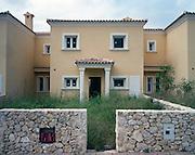 Housing development Valle de Calpe.