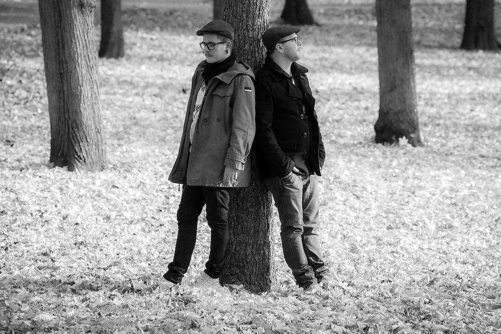 Germany - Deutschland - Musik - Music - NEVERM!ND -  Markus Schatz &  Geoff Bell (Martin Schlüter) / Berlin, 26.10.2012; © Christian Jungeblodt