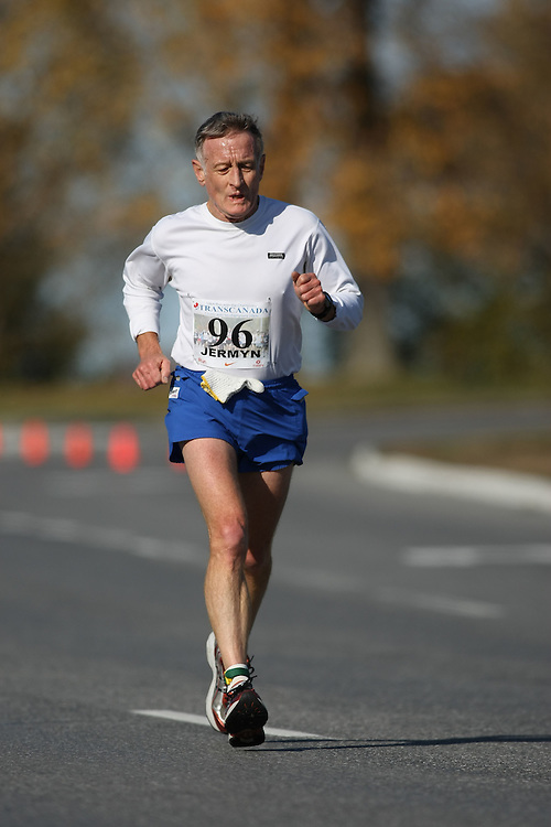 (Ottawa, ON---18 October 2008) CHRIS JERMYN competes in the 2008 TransCanada 10km Canadian Road Race Championships. Photograph copyright Sean Burges/Mundo Sport Images (www.msievents.com).