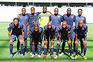 CAPE TOWN, South Africa - Monday 21 January 2013, Team picture of Jomo Cosmos during the soccer/football match Grasshopper Club Zurich (Switzerland) and Jomo Cosmos at the Cape Town stadium..Photo by Roger Sedres/ImageSA