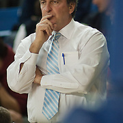 12/30/11 Newark DE: Temple Men's Head Coach Fran Dunphy coaching of the sidelines during a NCAA basketball game against Delaware Friday, Dec. 30, 2011 at the Bob carpenter center in Newark Delaware...RahlirJefferson-Hollis led the Owls with 13 points and eight rebounds, Anthony Lee added a career-high 12 points, seven rebounds, and three blocks, Juan Fernandez contributed 11 points, and Ramone Moore chipped in with 10 points and a game-high six assists.