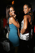 l to r: Alicia Renae and Sandy Lomax at The 2008 Urbanworld Film Festival and BET Networks Afterparty saluting Fashion & Film at Espace on September 13, 2008