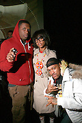 Jay Electronica and Erykah Badu and Supa Nova Sloan aka The HipHop Medicine Man at the Mos Def with Jay Electronica sold out Performance at The Nokia Theater on March 30, 2008