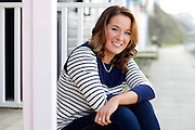 Anglia ITV news presenter Sascha Williams pictured in Cromer. <br /> <br /> Picture: MARK BULLIMORE