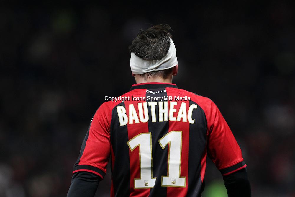 Eric BAUTHEAC - 23.01.2015 - Nice / Marseille - 22eme journee de Ligue 1<br />Photo : Jean Christophe Magnenet / Icon Sport