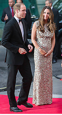 SEP 12 2013 The Duke and Duchess Of Cambridge at Tusk Conservation Awards