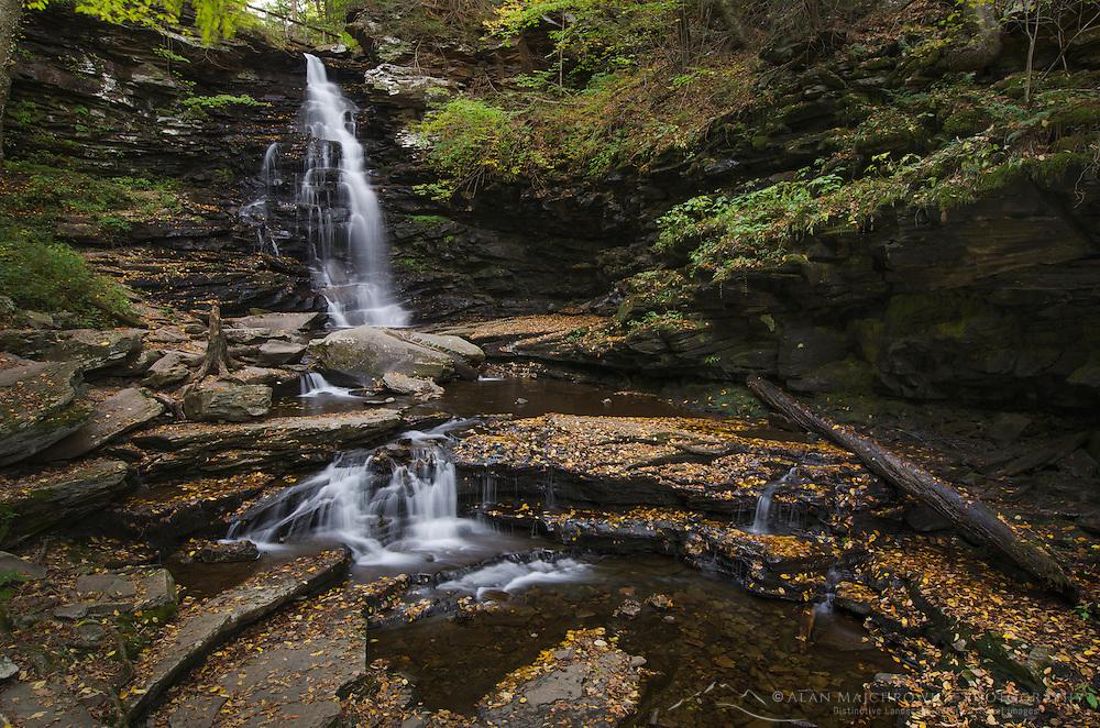 Ozone Falls, Ricketts Glen State Park, Pennsylvania