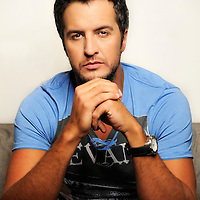 Luke Bryan poses for a portrait at Audio Productions on Tuesday, July 16, 2013 in Nashville, Tenn. (Photo by Donn Jones/Invision/AP)