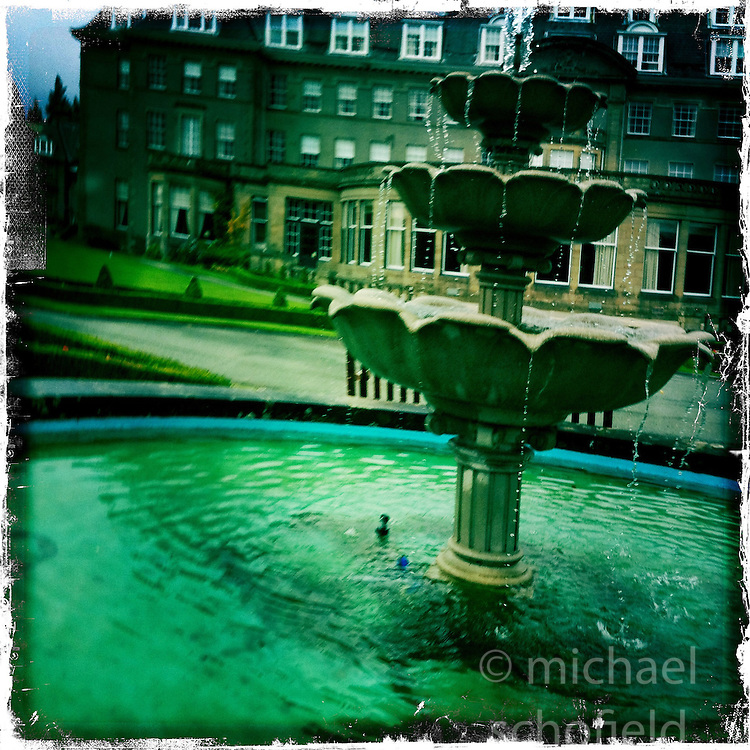 Gleneagles Hotel..Hipstamatic images taken on an Apple iPhone..©Michael Schofield.