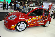 Citroen C2 Rally Car Concept.Melbourne International Motorshow, .Melbourne Exhibition Centre. Clarendon St, Southbank, Melbourne .14th February 2006.(C) Joel Strickland Photographics.Use information: This image is intended for Editorial use only (e.g. news or commentary, print or electronic). Any commercial or promotional use requires additional clearance.