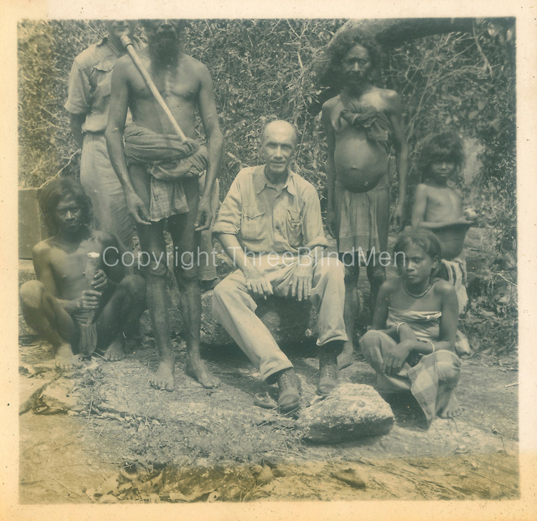 Dr. R.L. Spittel from album dated 1939 Bingoda Trip with Cecil and Christine.