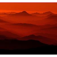 Vista sobre la cordillera de los Andes, Chile. 25-04-10 (©Alvaro de la Fuente/TRIPLE.cl)